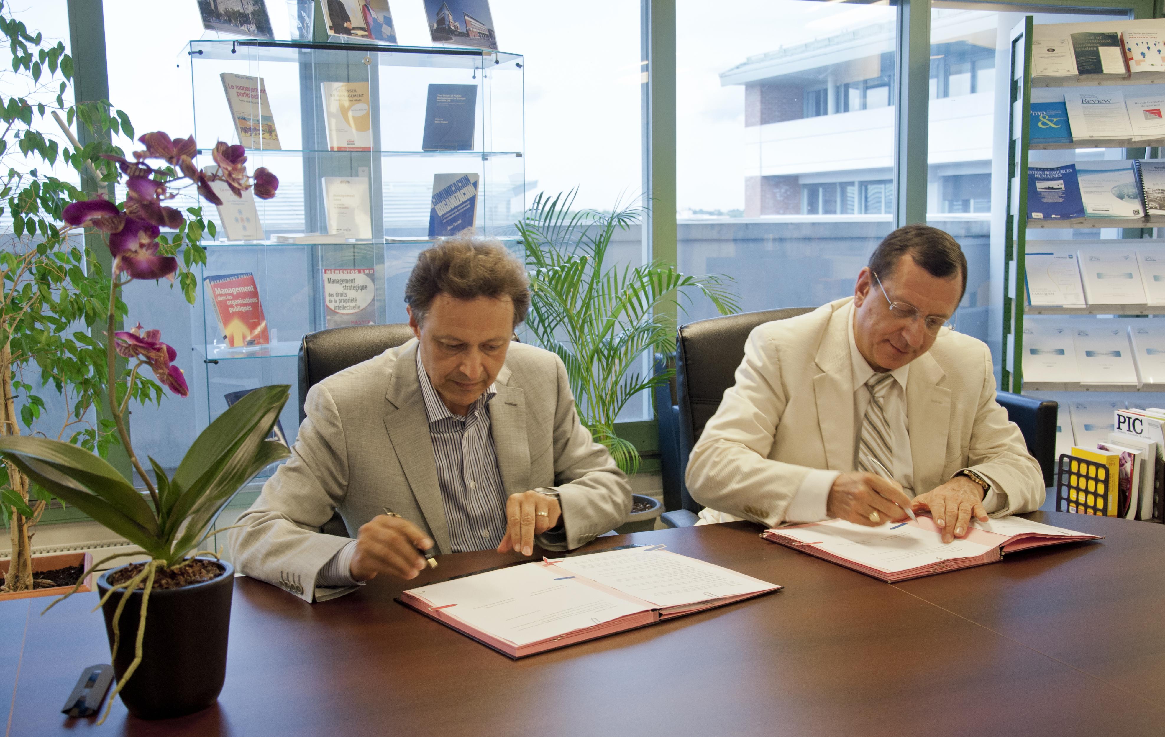 partenariat signatures